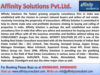 Cape Town Noida Projects !! AffinityConsultant.Com !!