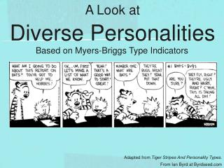 A Look at Diverse Personalities