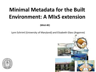 Minimal Metadata for the Built Environment: A  MIxS  extension