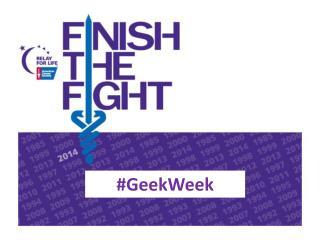 # GeekWeek