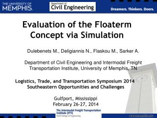 Evaluation of the Floaterm Concept via Simulation
