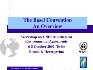 The Basel Convention An Overview