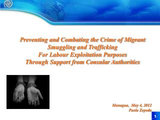 Preventing and Combating the Crime of Migrant Smuggling and Trafficking