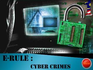 E-rule :  Cyber crimes