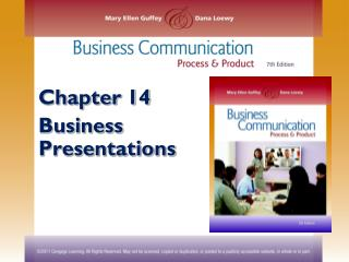 Chapter 14 Business Presentations