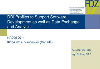 DDI Profiles to Support Software Development as well as Data Exchange and Analysis