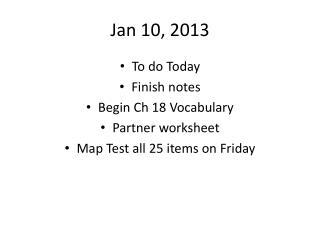 Jan 10, 2013