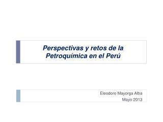 Perspectivas y retos de la Petroquímica en el Perú