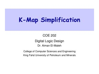 K-Map Simplification