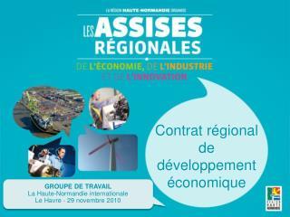 Contrat régional de développement économique