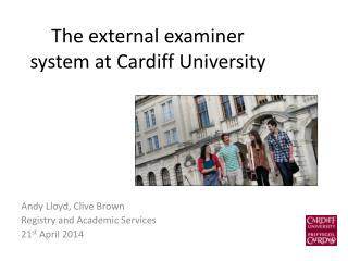 The external examiner system at Cardiff University