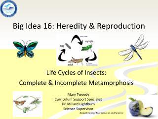 Big Idea 16: Heredity & Reproduction