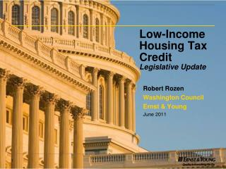 Low-Income Housing Tax Credit  Legislative Update