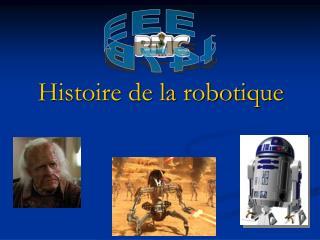 Histoire de la robotique