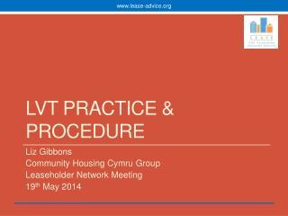LVT Practice & Procedure