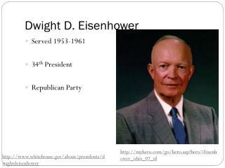 Dwight D. Eisenhower