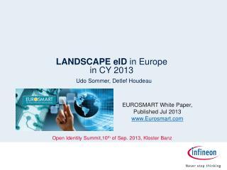 LANDSCAPE  eID in Europe  in CY 2013