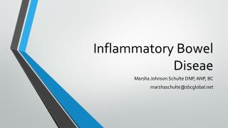 Inflammatory Bowel  Diseae
