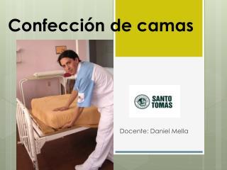 Confección de camas