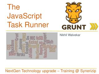 The JavaScript Task Runner