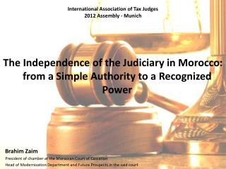 International Association of Tax Judges 2012 Assembly - Munich
