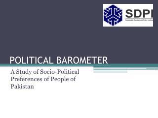 POLITICAL BAROMETER