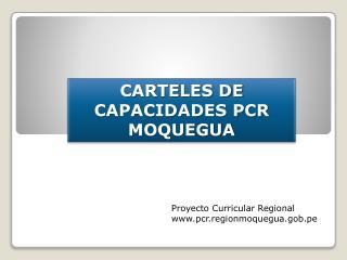 CARTELES DE CAPACIDADES PCR MOQUEGUA