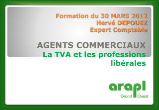 Formation du  30 MARS 2012 Herv� DEPOUEZ Expert Comptable