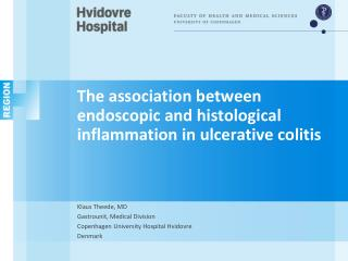 The  association  between endoscopic and histological inflammation in ulcerative colitis