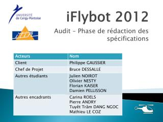 iFlybot  2012