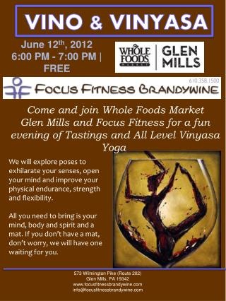 June 12 th , 2012 6:00 PM - 7:00 PM | FREE