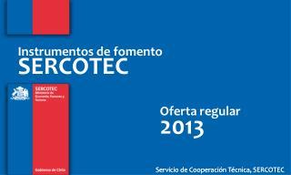 Servicio de Cooperación Técnica, SERCOTEC
