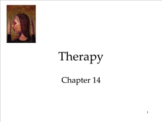 Therapy Chapter 14