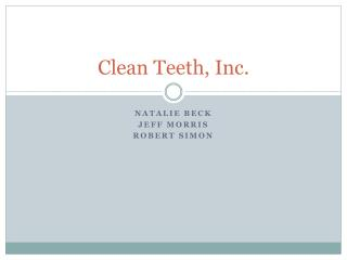 Clean Teeth, Inc.
