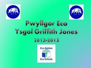 Pwyllgor  Eco Ysgol  Griffith Jones 2012-2013