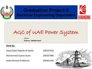 AGC of UAE Power System