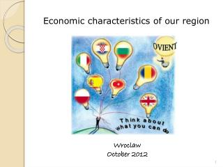 Economic characteristics of our region