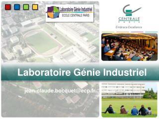 Laboratoire G�nie Industriel