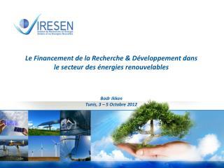 - R�union  d�experts  sur Les m�canismes  innovants de financement des  projets -
