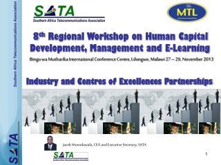Bingu wa Mutharika  International Conference Centre, Lilongwe, Malawi 27  –  29,  November 2013