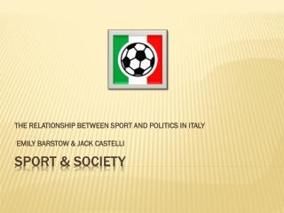 Sport & Society