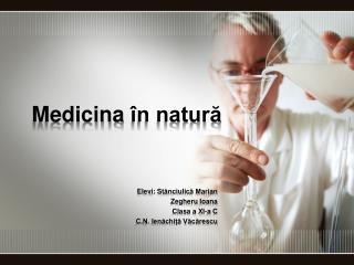 Medicina în natură