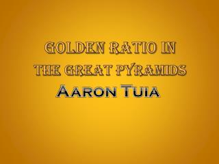 Golden Ratio in