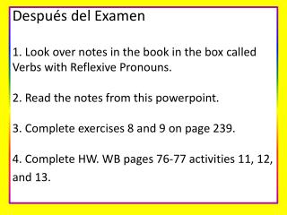 Reflexive+Verb+Notes