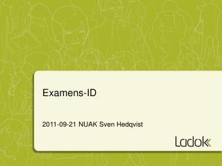 Examens-ID