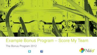 Example Bonus  Program – Score My Team