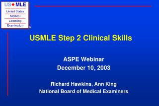 USMLE Step 2 Clinical Skills
