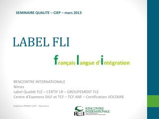 LABEL FLI