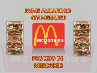 JAIME ALEJANDRO  COLMENARES