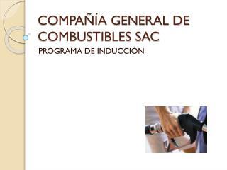COMPAÑÍA GENERAL DE COMBUSTIBLES SAC